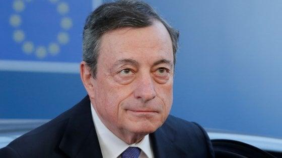 Mario Draghi: ecco da chi è sostenuto